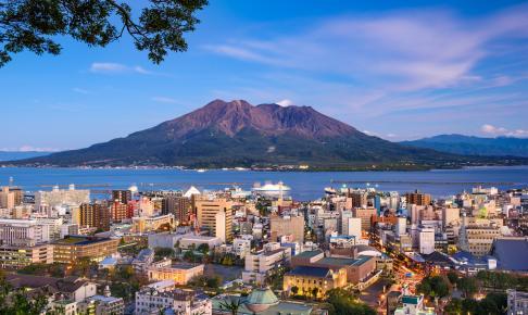 Shiroyama Park, Kagoshima, Japan - Risskov Rejser