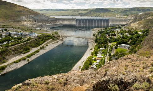 Coulee Dam i Electric City - Risskov Rejser