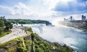 Det berømte vandfald - Niagara Falls - Risskov Rejser