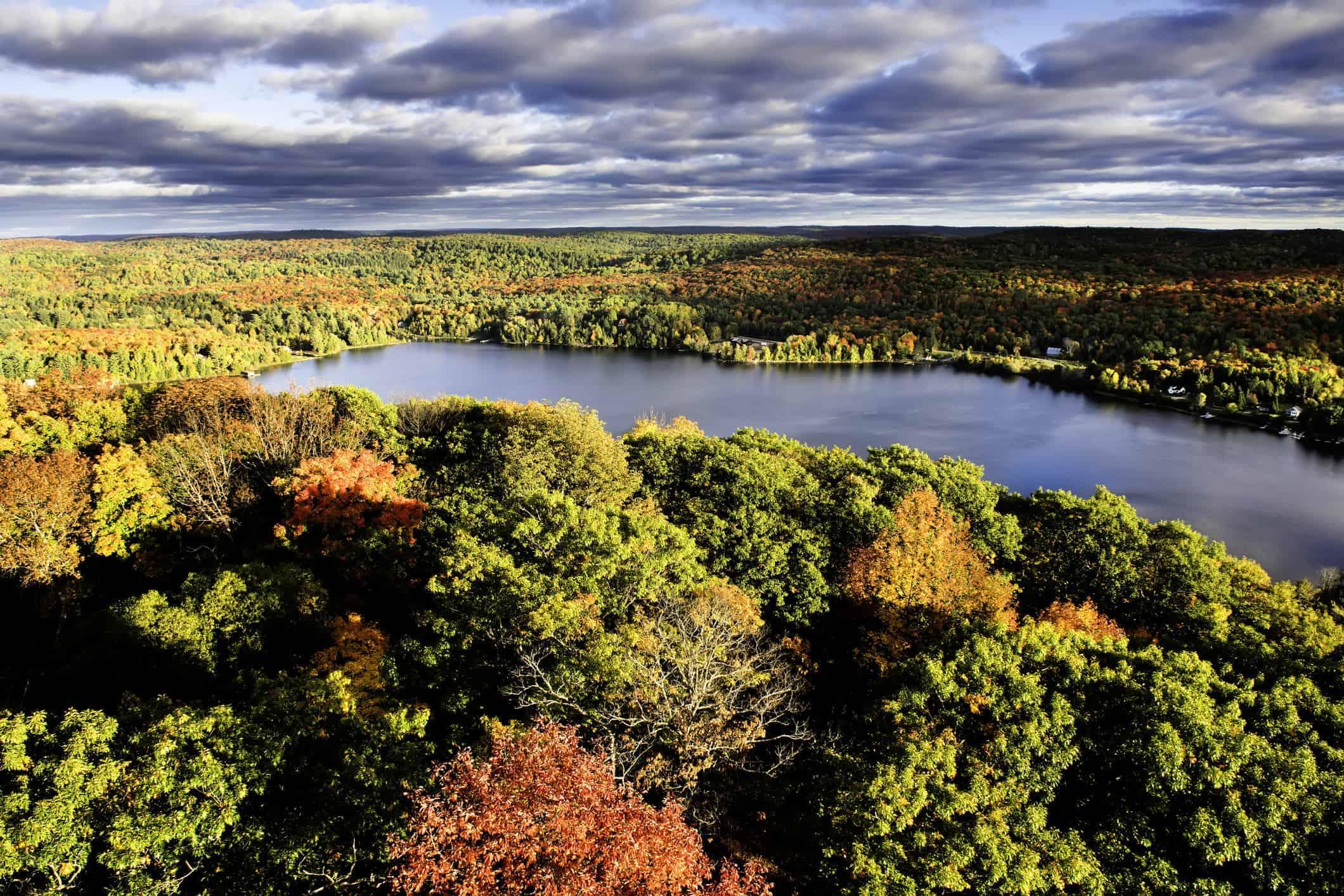 Dorset, Ontari i efteråret - Risskov Rejser