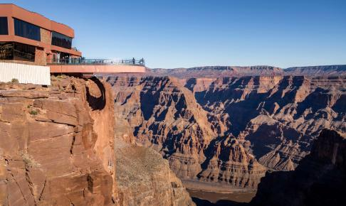 Grand Canyon Skywalk - Risskov Rejser