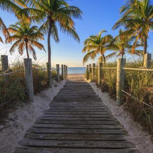 Key West Beach - Florida - Risskov Rejser