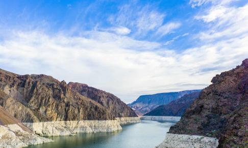 Lake Mead ved Hoover Dam i Arizona - Risskov Rejser