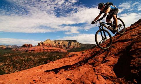 På cykeltur i Sedona - Risskov Rejser