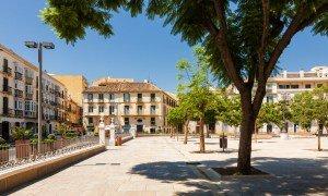 Plaza de la Merced, Malaga - Risskov Rejser