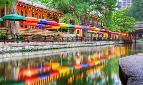 River Walk i San Antonio - Risskov Rejser