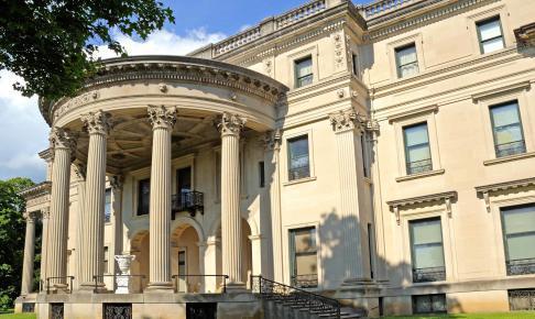 Roosevelts fødehjem i Hyde Park – motorhomeferie i New England