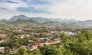 Udsigt over Luang Prabang - Risskov Rejser