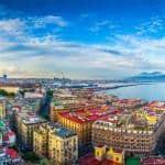 Panorama af Naples - Italien - Risskov Rejser
