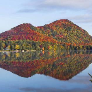 Udsigt over Lac-Superieur - Risskov Rejser