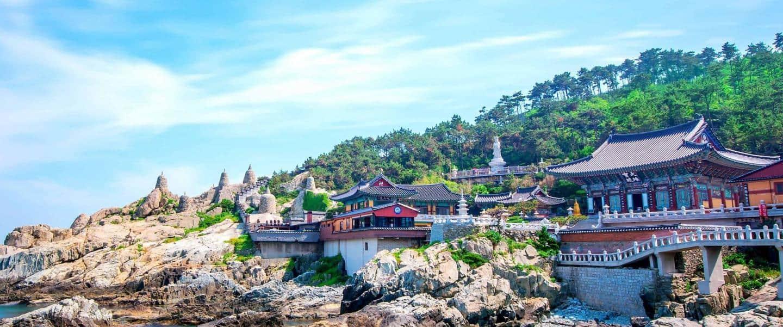 Haedong Yonggungsa-templet ved Busan - Risskov Rejser