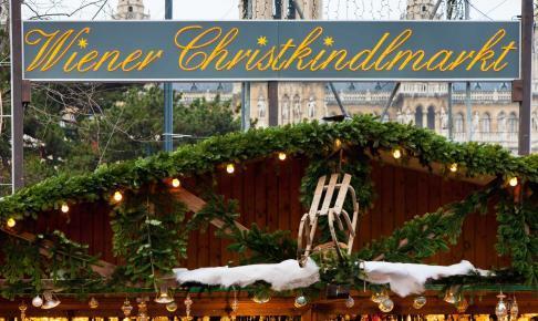 Et af Wiens hyggelige julemarkeder - Risskov Rejser