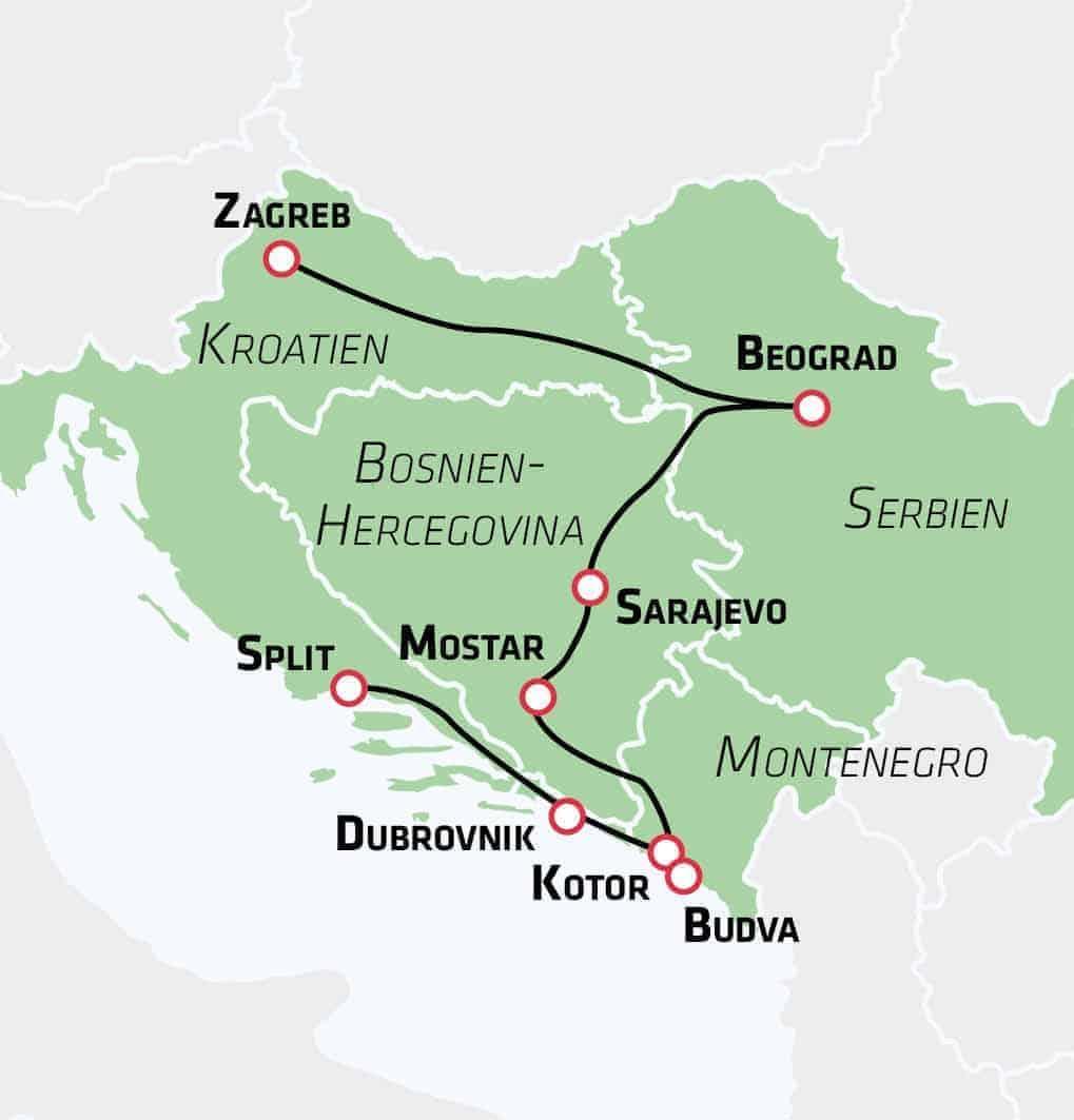 Den store Balkan rejse - Risskov Rejser