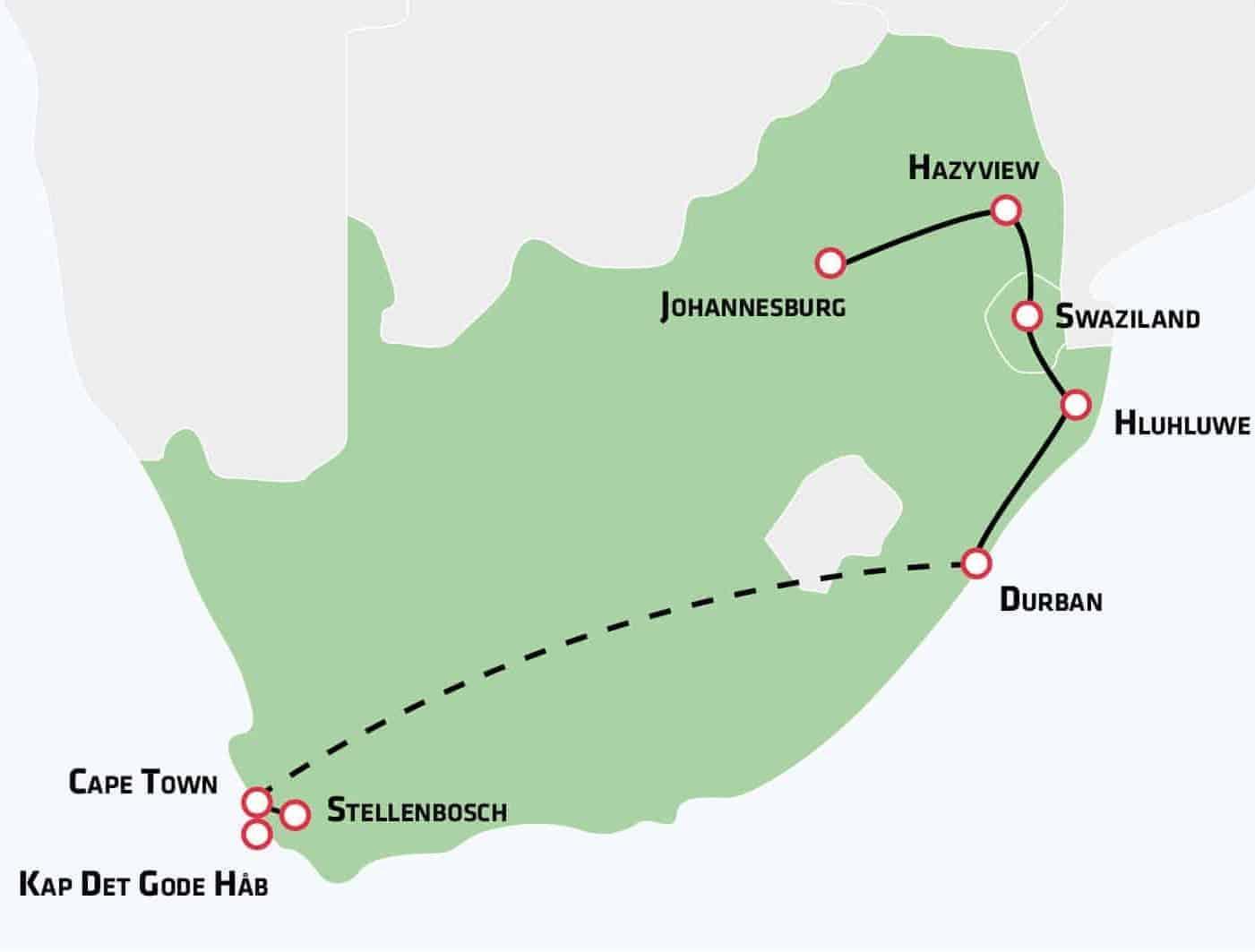 Rundrejse Sydafrika Bestil En Rundrejse Til Sydafrika Risskov Rejser