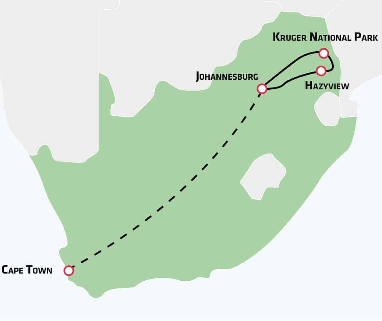 Safara og storbyoplevelser i Sydafrika - Risskov Rejser