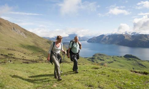 Bjergvandring i Wanaka - New Zealand - Risskov Rejser
