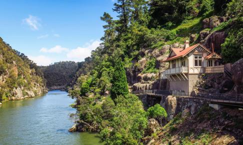 Launceston on the North Coast of Tasmania - Risskov Rejser