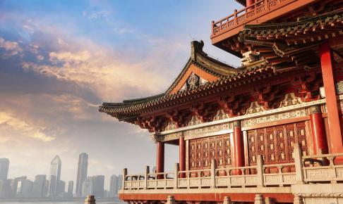 Ancient Chinese arkitektur - Risskov Rejser