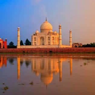 Taj Mahal, Agra, Indien - Risskov Rejser