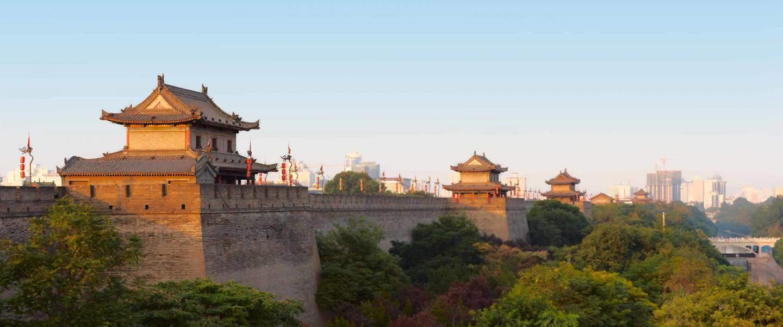 Xi'an city wall, Kina - Risskov Rejser