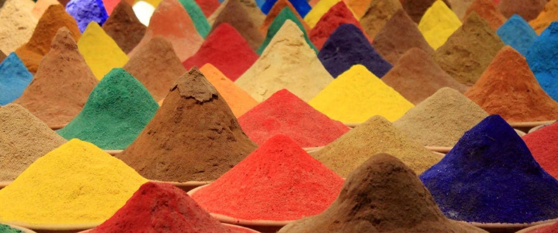 Farvet pulver - Indien - Risskov Rejser