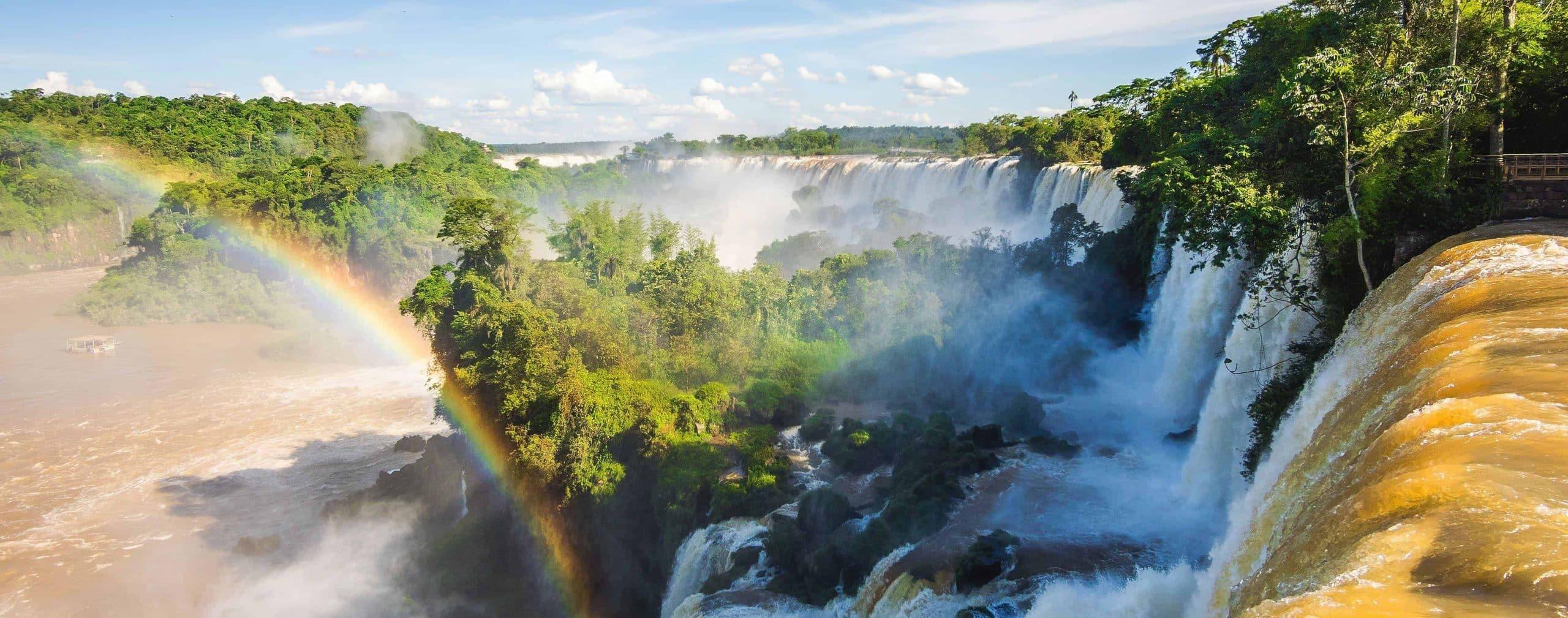 Iguazú-vandfaldene mellem Argentina og Brasilien - Risskov Rejser