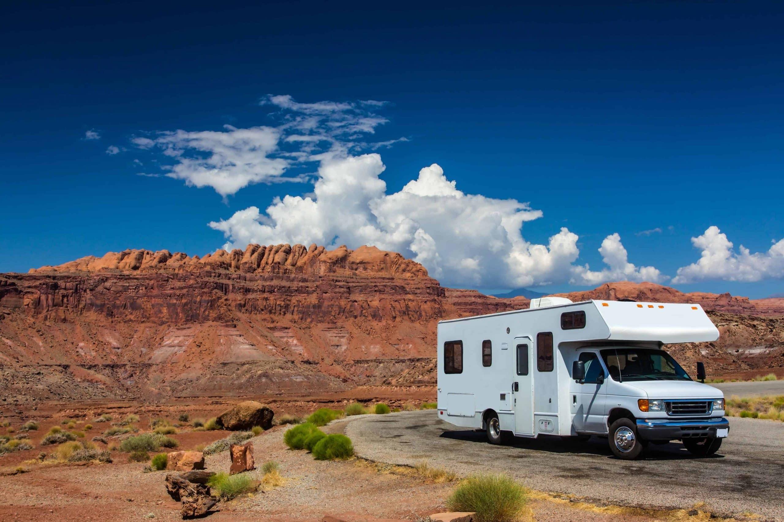 Autocamper, Canyonlands, USA - Risskov Rejser