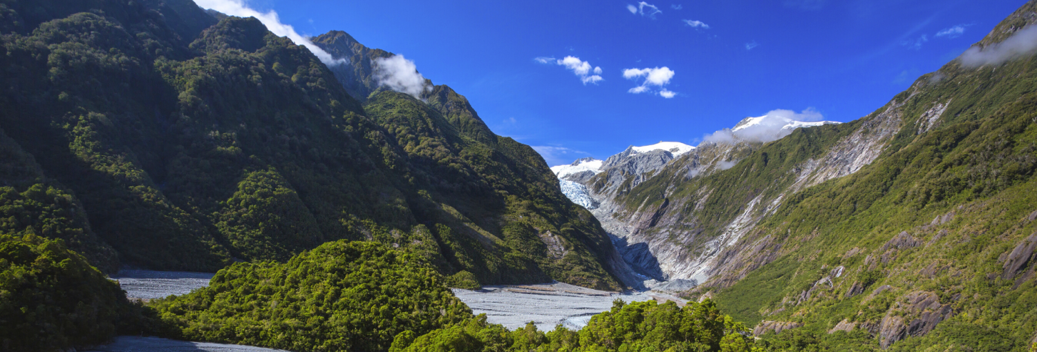 Franz Josef i New Zealand