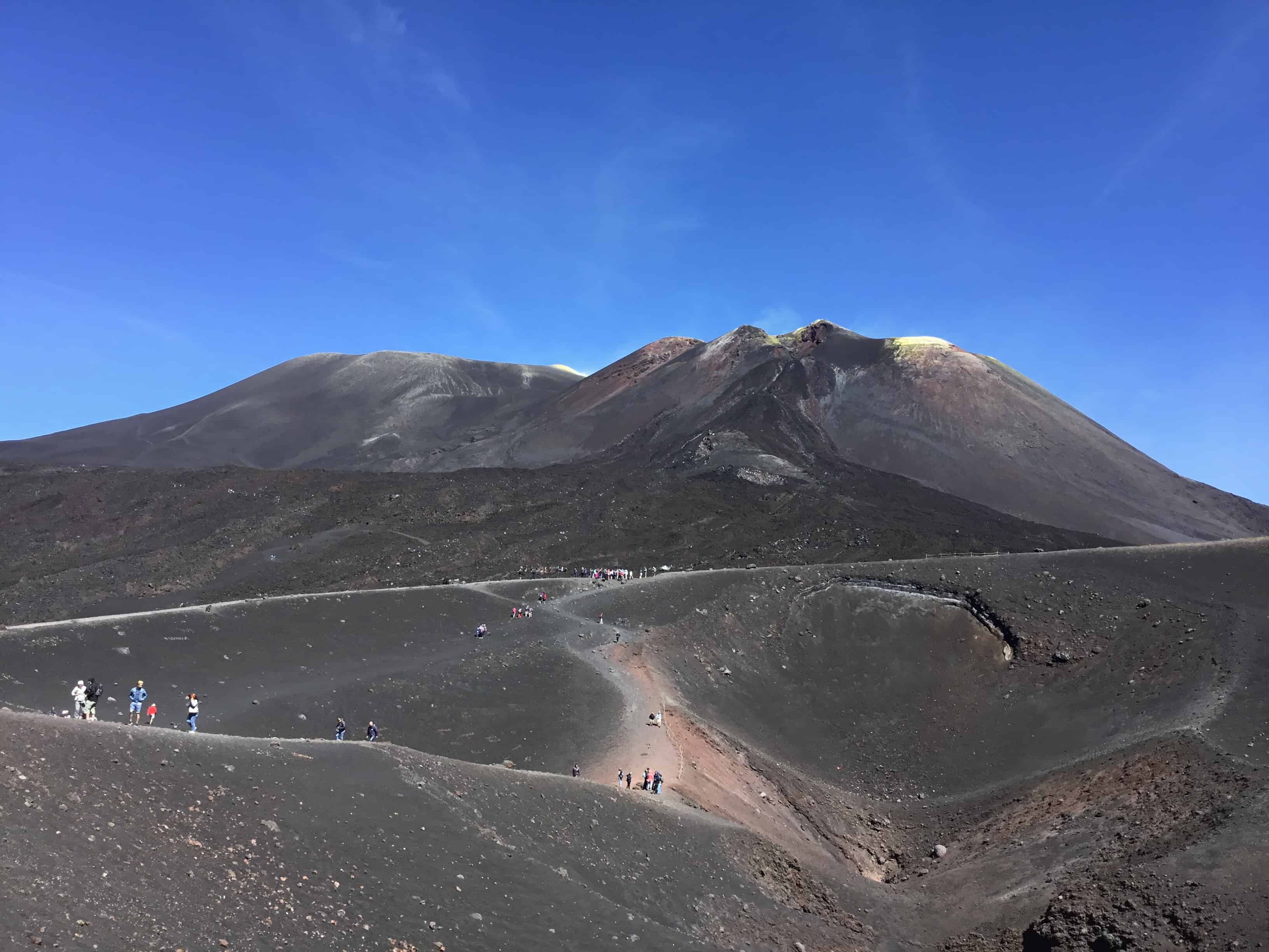 Vulkanen Etna Sicilien