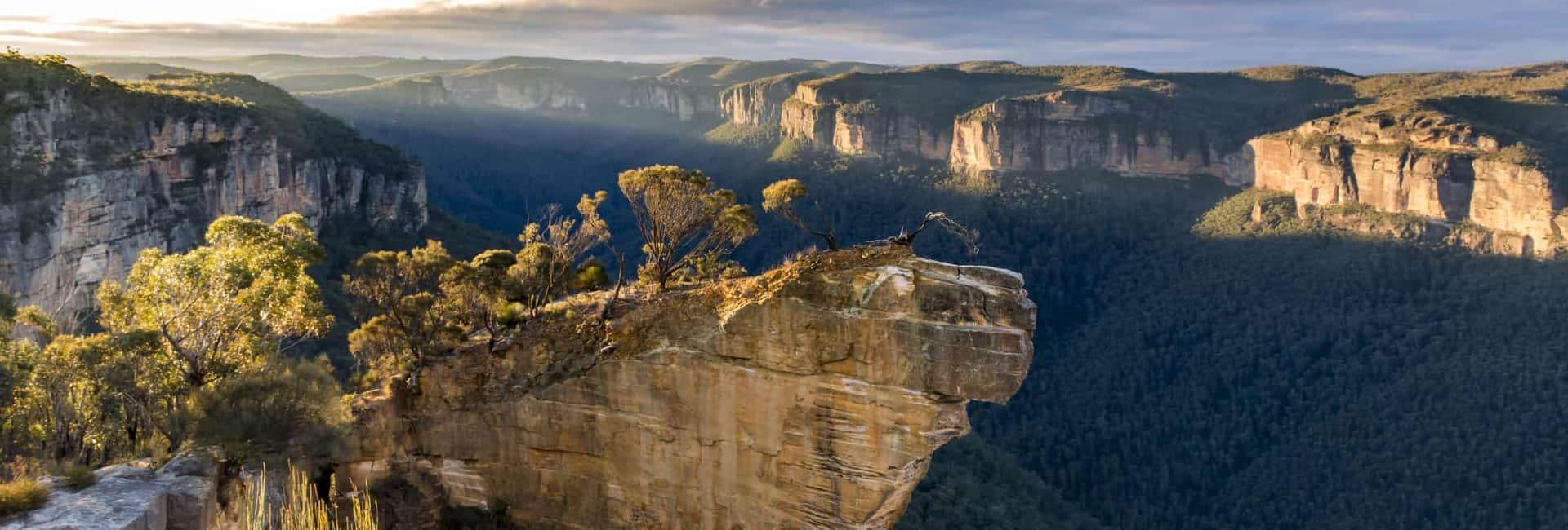 Blue Mountain i Australien