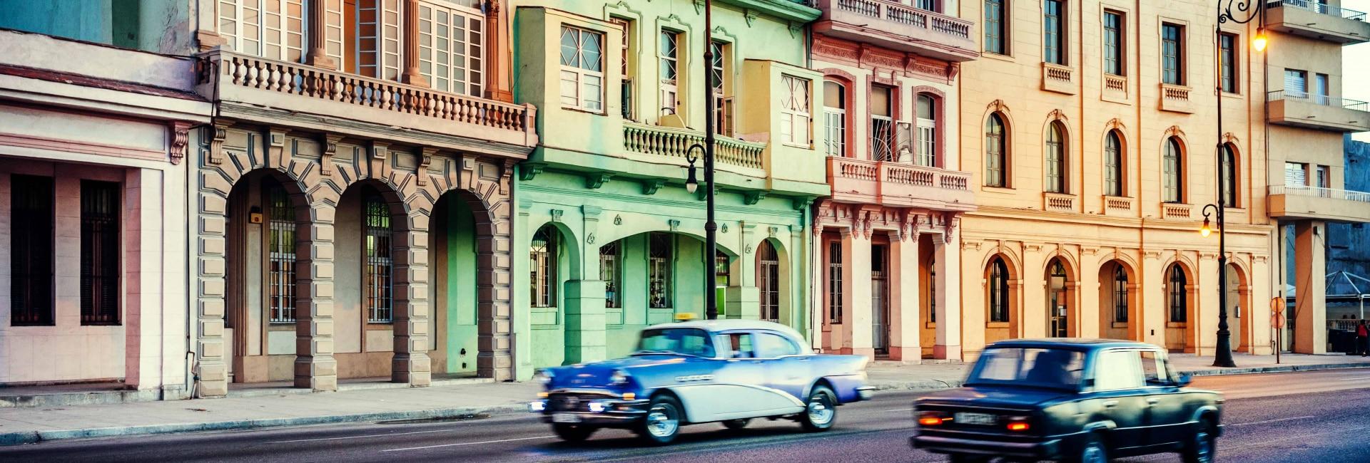 Bybillede af Havana i Cuba