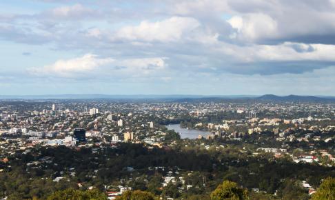 Cootha-bjerget, Brisbane, Queensland, Australien - Risskov Rejser