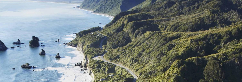 Nord og sydøen i bil og autocamper