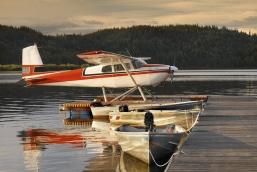 Vandflyver i Sunshine Coast, British Columbia, Canada
