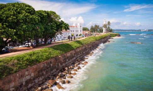 Det UNESCO-fredede fort i Galle på Sri Lanka - Risskov Rejser