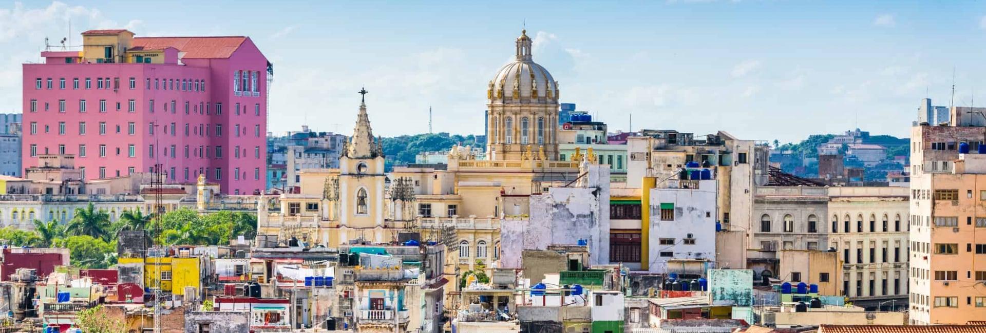 Farverige Havana i Cuba