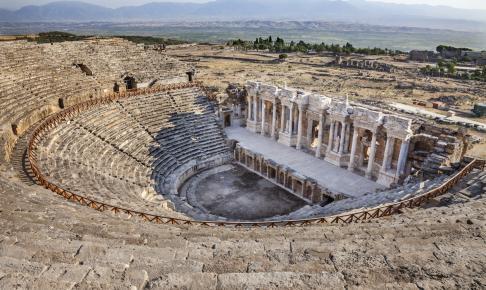 Hierapolis, Tyrkiet - Risskov Rejser