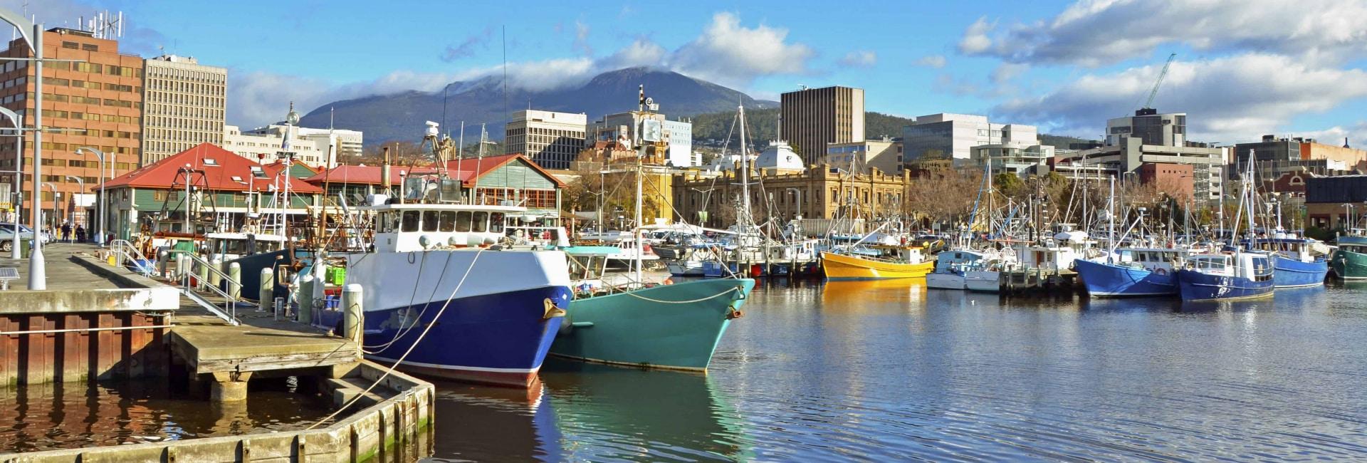 Hobart i Tasmanien, Australien