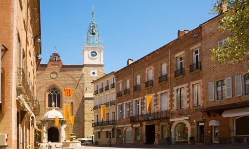 Katedralen i sydfranske Perpignan – Risskov Rejser
