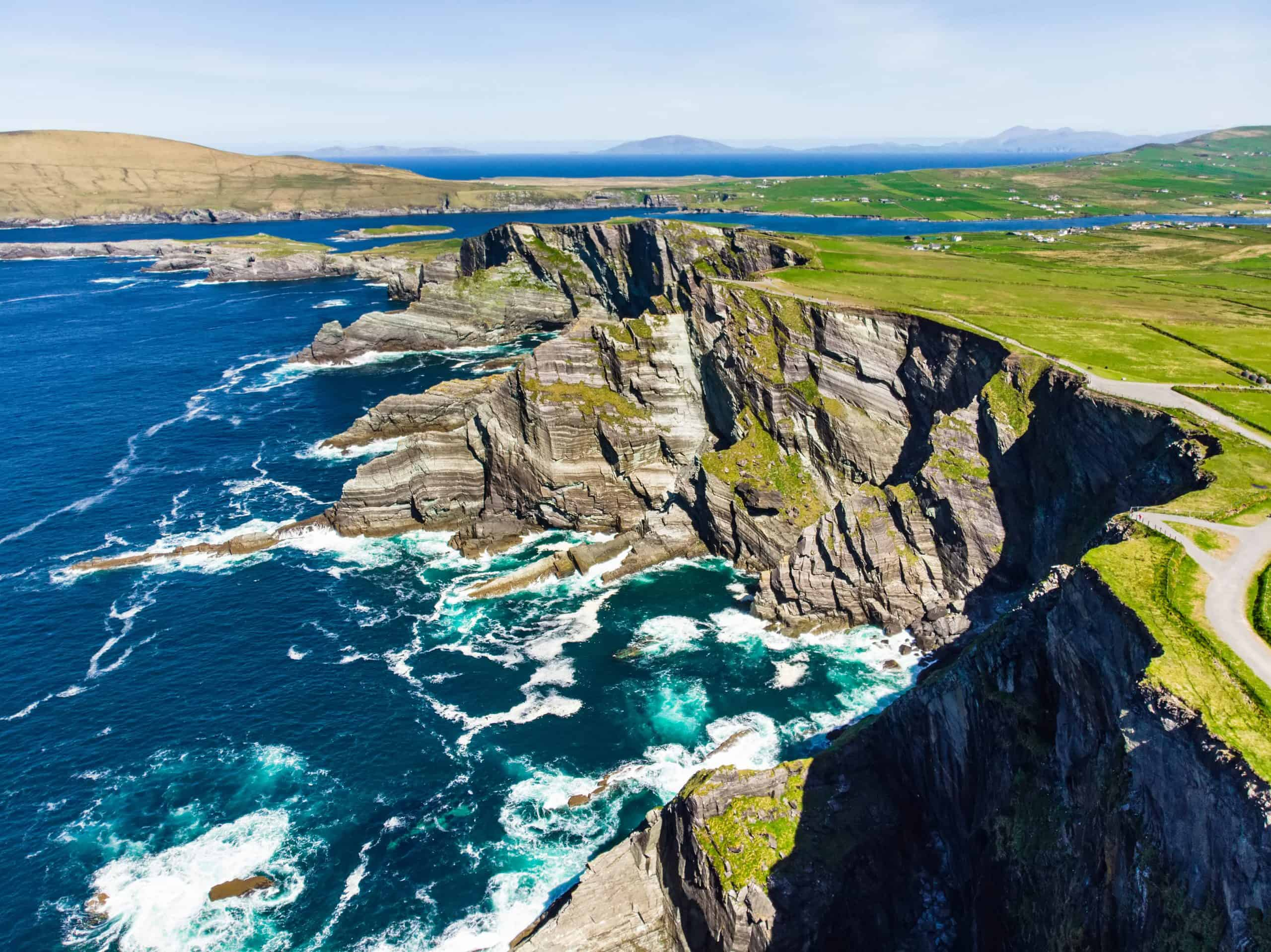 Klipper ved Ring of Kerry