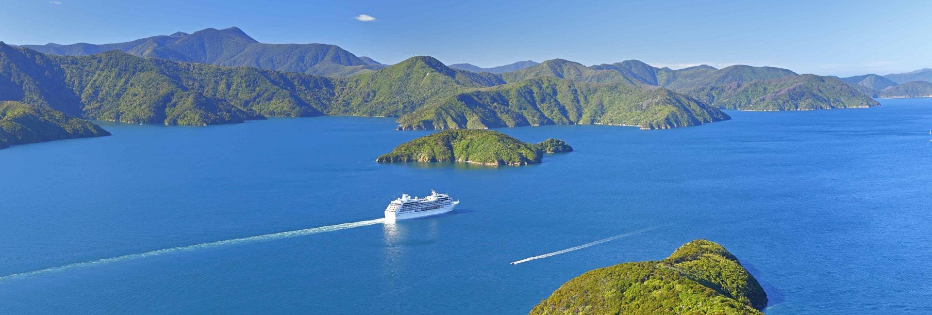 Marlborough Sounds i New Zealand