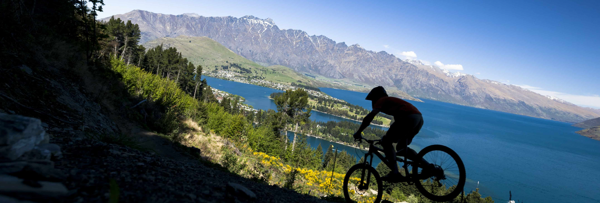 Mountain Bike. På cykel gennem New Zealand med Risskov Rejser
