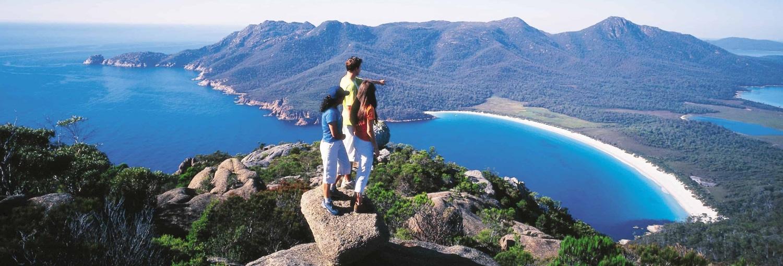 Mt Amos Wineglass Bay i Australien