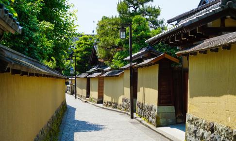 Nagamachi-distriktet i Kanawaza - Risskov Rejser