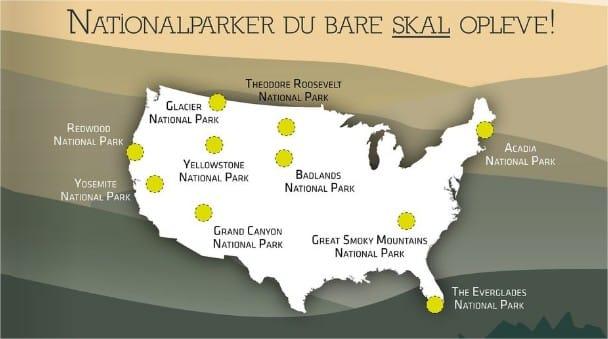 10 nationalparker i USA du bare skal opleve med Risskov Rejser