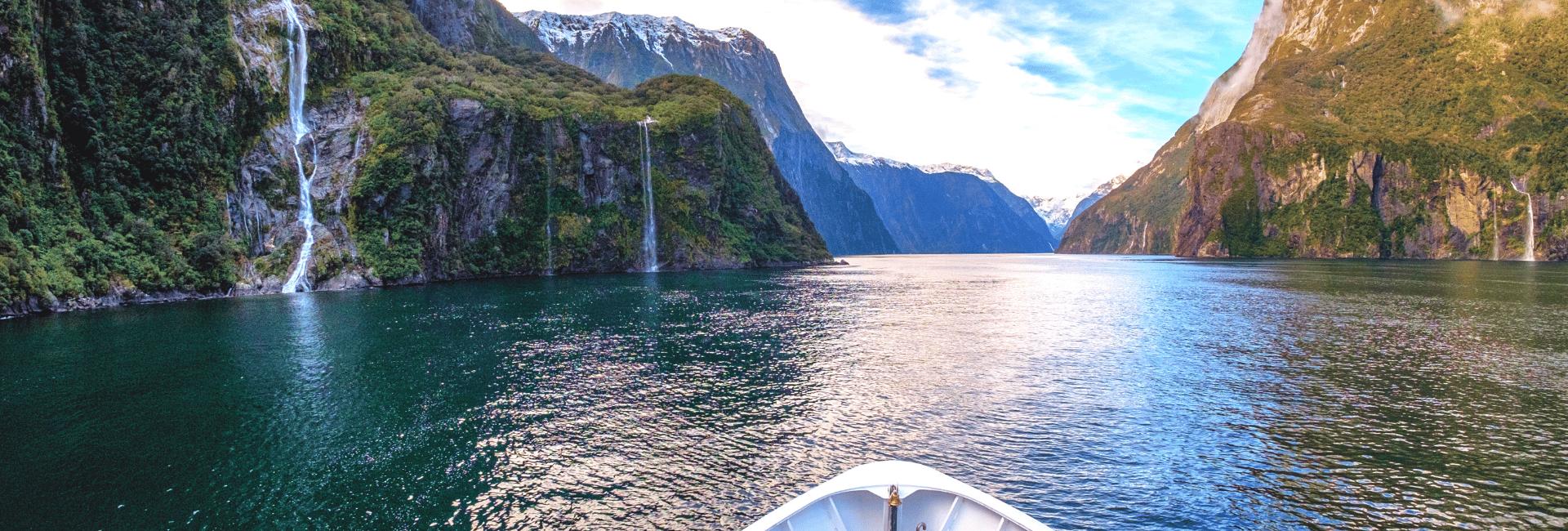 Få et overblik over vores håndplukkede udflugter i New Zealand - Risskov Rejser