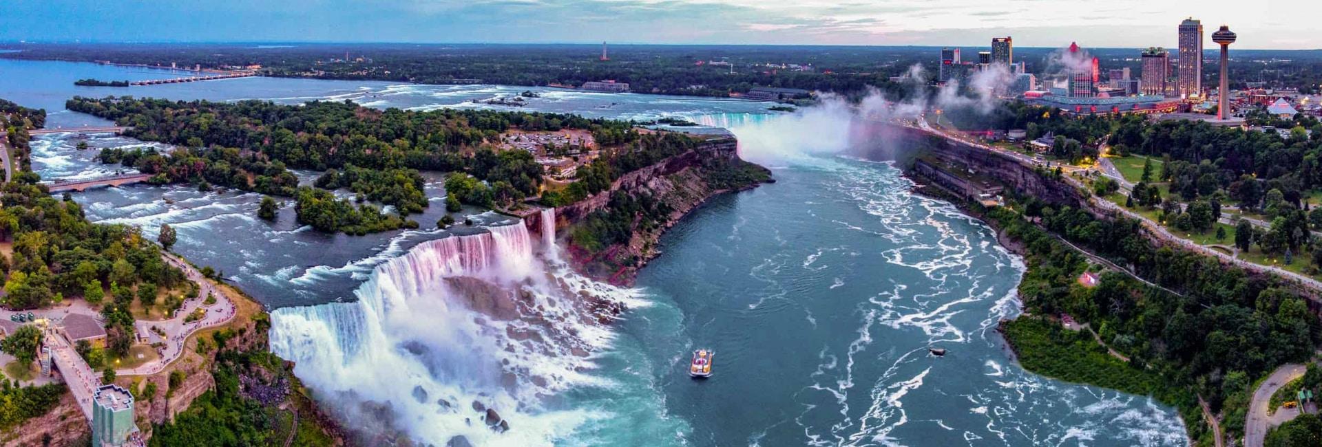 Niagara Falls og Toronto, Canada
