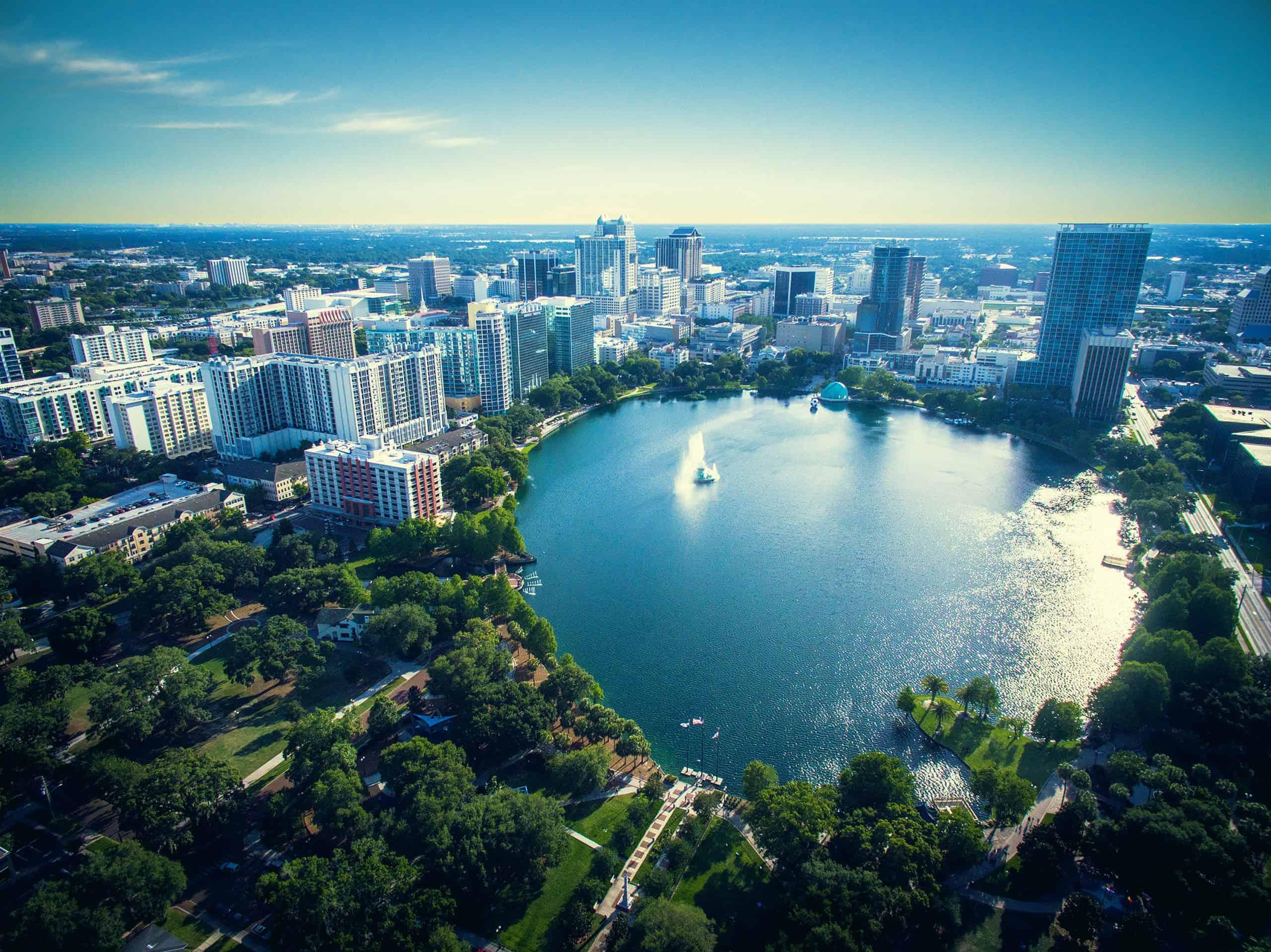 Orlando fra luften, Florida