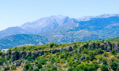 Bjergkæden Sierra de las Nieves, Andalusien, Spanien - Risskov Rejser
