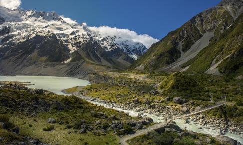 The Southern Alps, Sydøen, New Zealand - Risskov Rejser